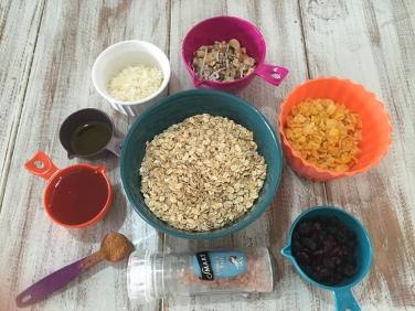 granola ingredientes